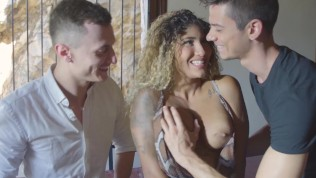 Married Venus Afrodite explores husband's friend